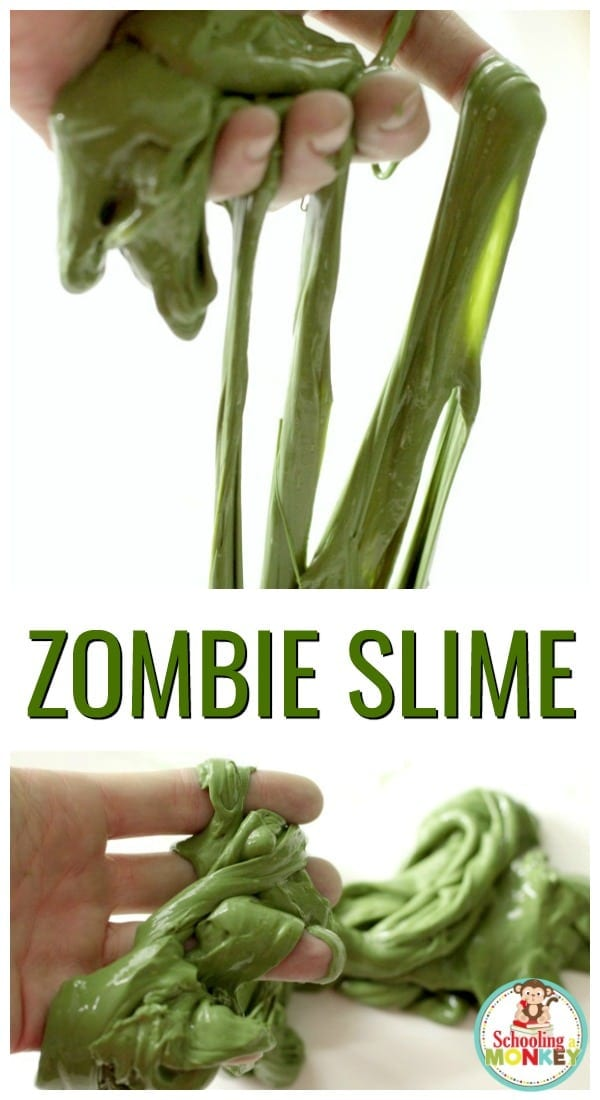 When October rolls around, it's time to celebrate all things creepy and gross, like zombies! This zombie slime is just gross enough to delight STEM lovers.
