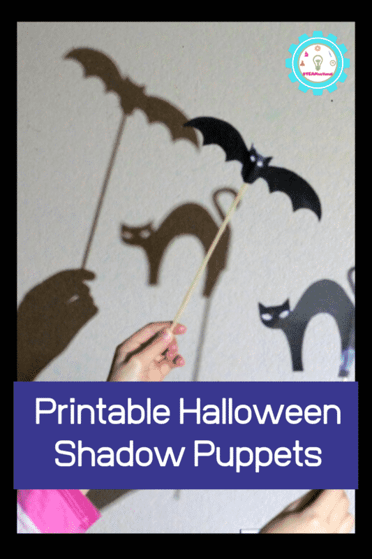 If you love Halloween, don't miss these Halloween shadow puppet templates that are the perfect Halloween twist on shadow science experiments.