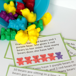 1 Simple Way to Make Math Fun with Counting Bears