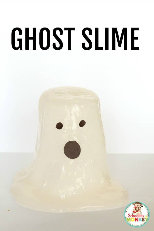 Make Halloween fun by making ghost slime in your science classroom! This Halloween STEM activity is the perfect Halloween science experiment for kids.