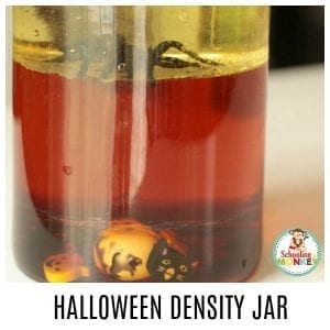 How to Make a Spooktacular Halloween Density Jar