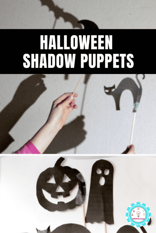 halloween shadow puppets