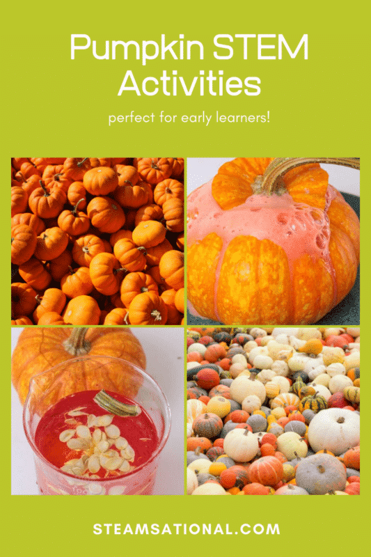 Love fall? Love science? Then you'll love these pumpkin STEM activities  for kindergarten and preschool!