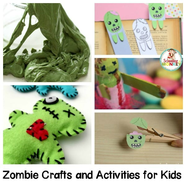 Creepy Zombie Crafts for Kids that Will Delight, not Fright