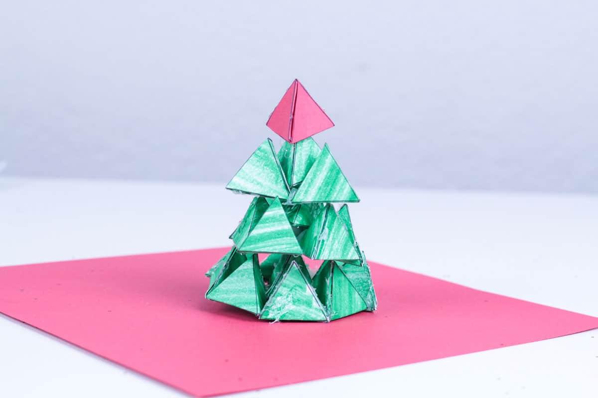 3d Christmas Tree Engineering Challenge For Kids