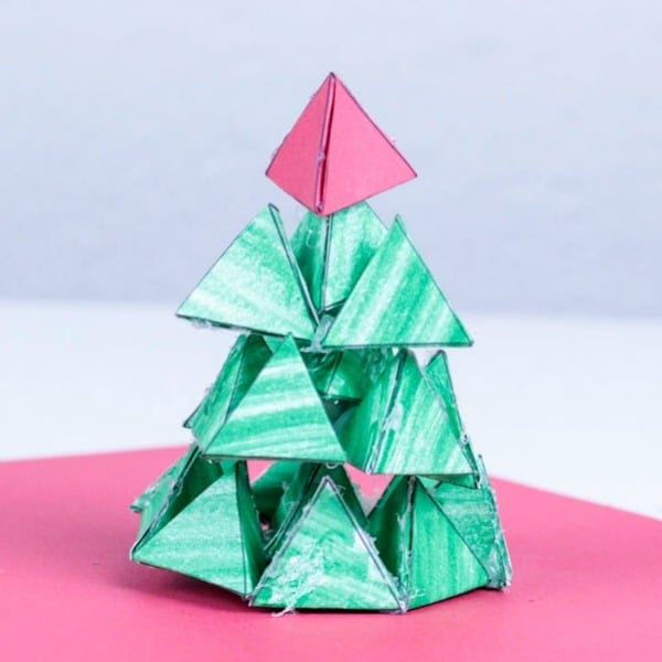 3d Paper Christmas Tree Template.Thanks For Downloading The 3d Christmas Tree Challenge Templates