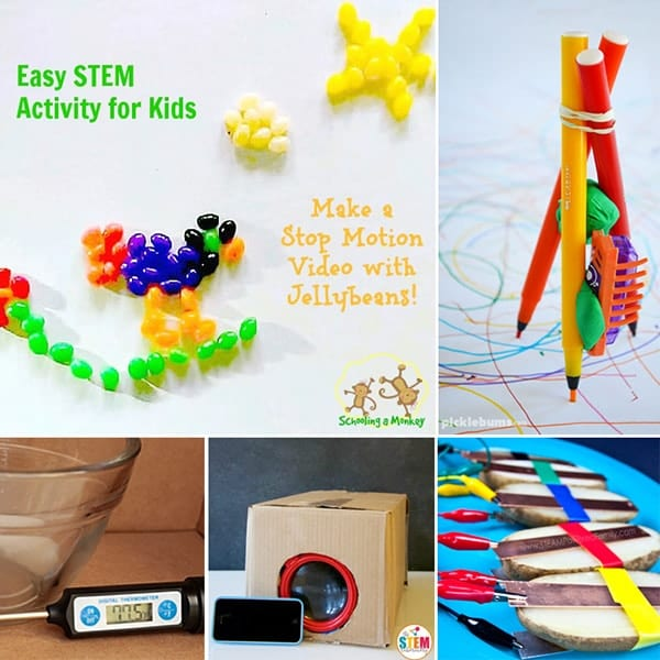 Teaching elementary science? This collection offers the best STEM activities for elementary aged kids that are hands on, educational, and fun!