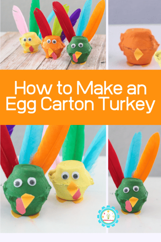 how to make a turkey craft