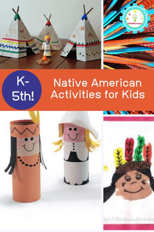 native american activities for kids