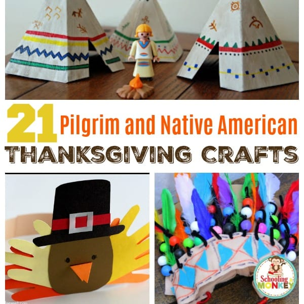 21 of the Best Native American and Pilgrim Crafts for Kids