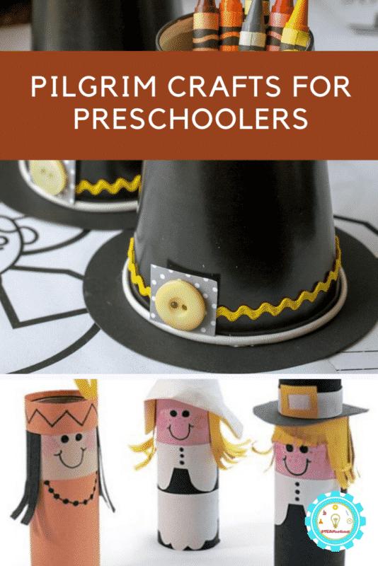 pilgrim crafts for preschoolers