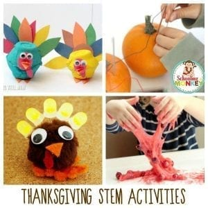 Thanksgiving STEM Activities that Will Make Your Classroom Feel Like 1621
