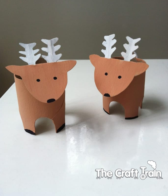 These Reindeer Crafts For Kids Are Completely Magical And A Fun Way To Celebrate The Christmas