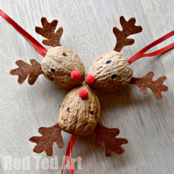 These reindeer crafts for kids are completely magical and a fun way to celebrate the Christmas season in the classroom or at home!