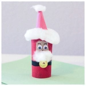 The Easiest Santa Craft You Can Make This Year