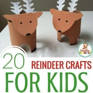20 Magical Reindeer Crafts for Kids