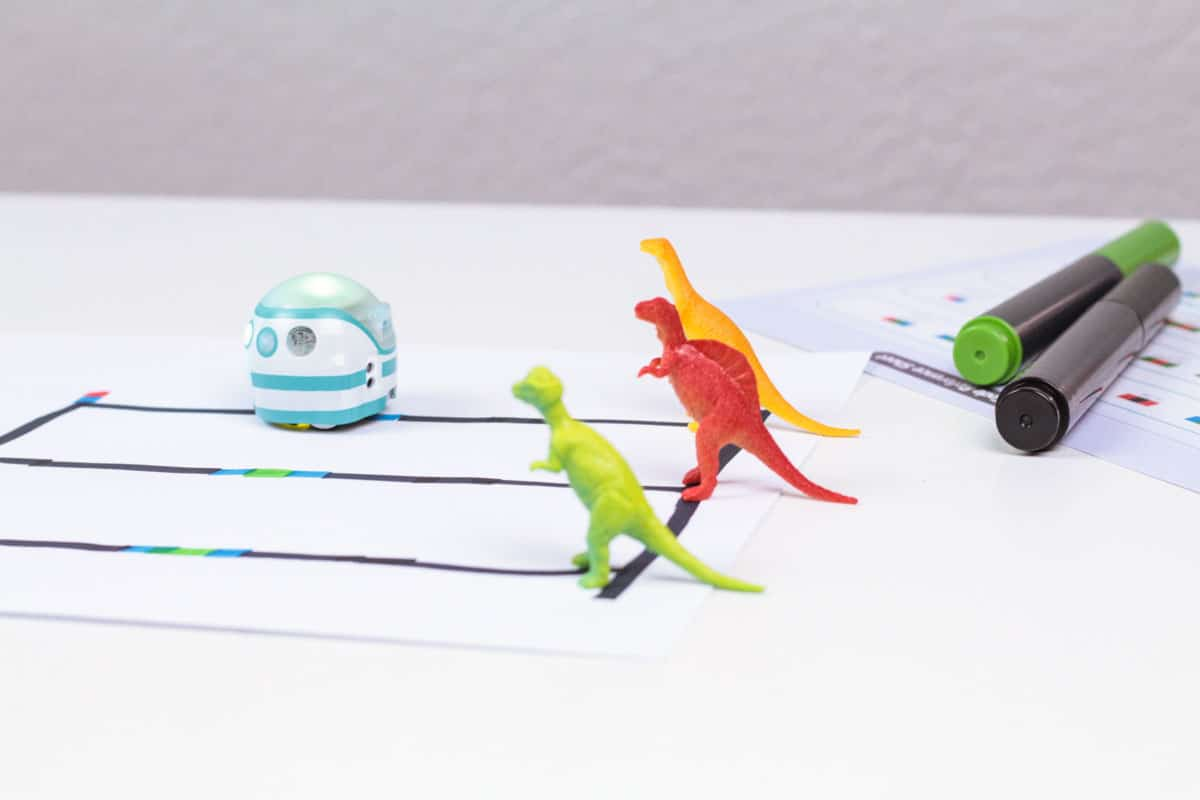 Learning to code is a valuable skill for kids. But not all coding has to happen on screen. Screen free coding is possible with the Ozobot Evo!