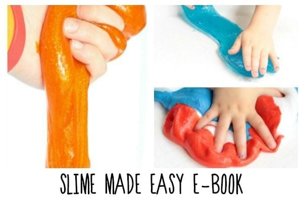 Slime is one of our favorite recipes for sensory play. This collection of foolproof slime recipes comes with plenty of slime troubleshooting tips!