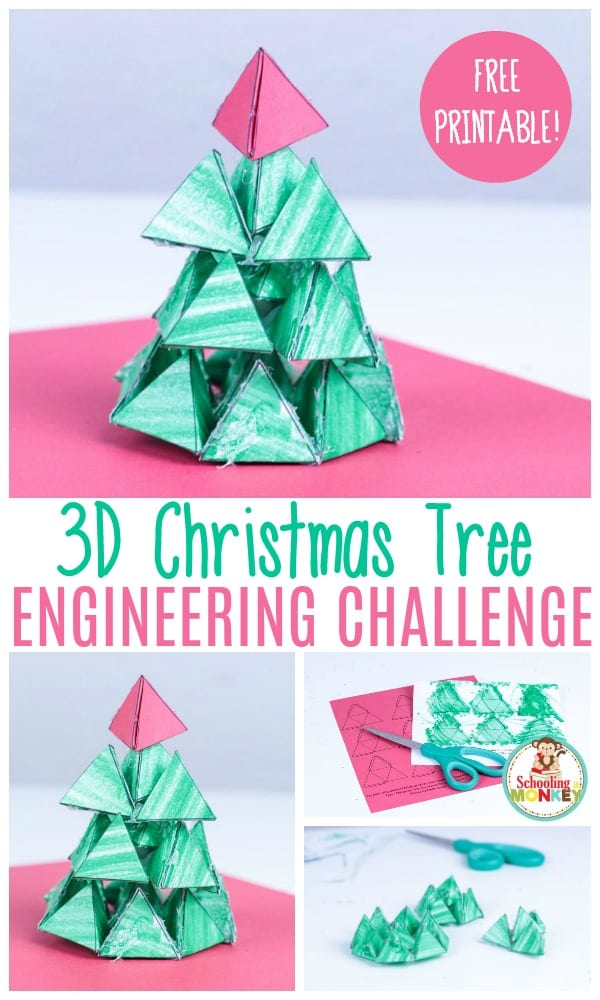 3d christmas tree engineering challenge
