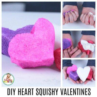DIY HEART VALENTINE SQUISHY