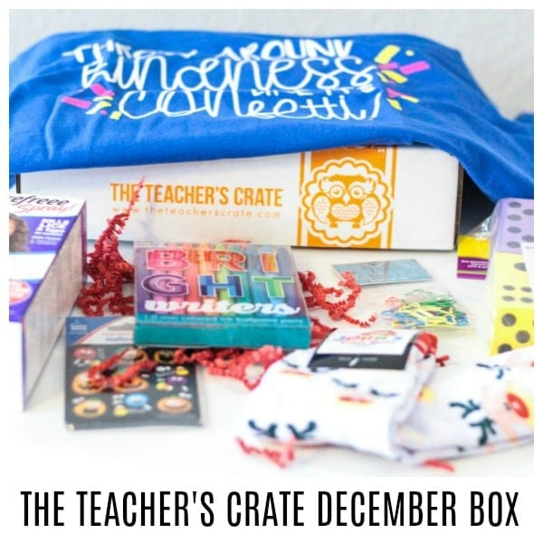 If you love teaching as much as you love surprise goodies, you won't want to miss this fun Teacher's Crate box! It's such a fun way to make teaching exciting again!