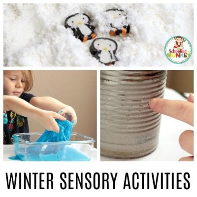 Winter Sensory Activities for Kids