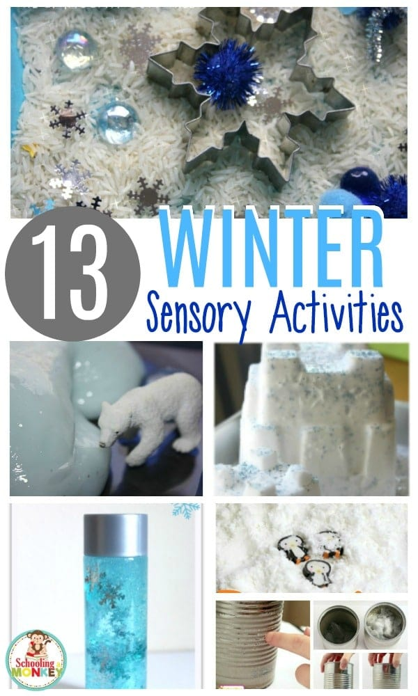 Keep warm in the winter with these hands on winter sensory activities for kids! Preschoolers and kindergarten kids will love these educational winter activities. Keep warm in the winter with these hands on winter sensory activities for kids! Preschoolers and kindergarten kids will love these educational winter activities.  #winteractivities #earlylearning #handsonlearning #sensory