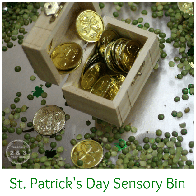 Foster a love of STEM topics in your preschoolers and toddlers with these festive St. Patrick's Day STEM sensory bins. These St. Patrick's Day sensory bins teach the basics of science, technology, engineering, and math to the youngest preschool science fans.