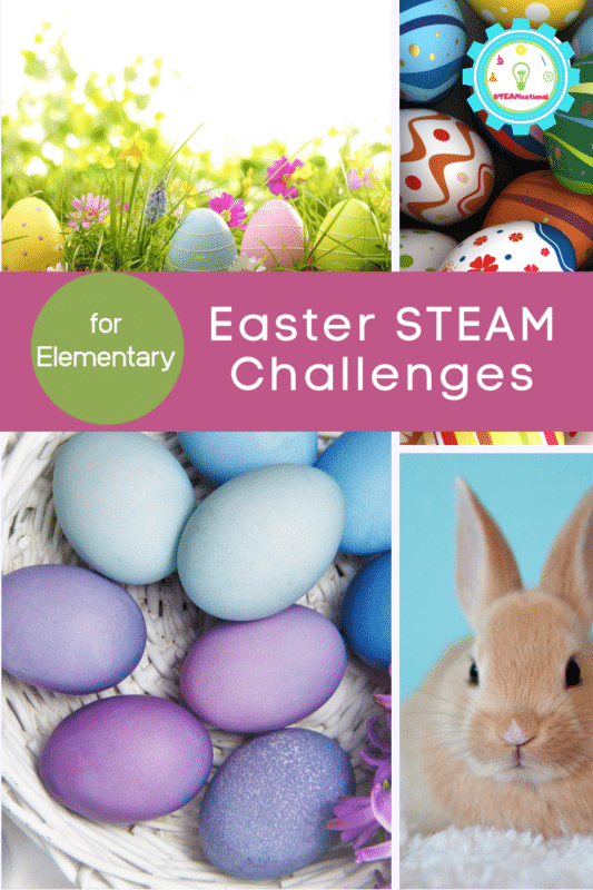 easter steam challenges for elementary