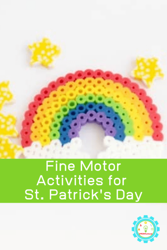 fine motor activities for st patricks day