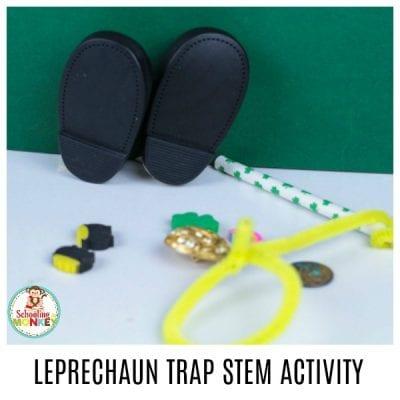 SIMPLE AND FUN LEPRECHAUN TRAP STEM ACTIVITY FOR KIDS