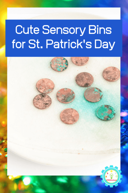 st patrick sensory stem activities