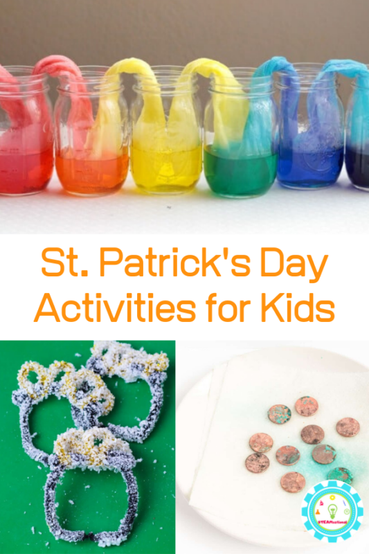 st patricks day activities for kidss