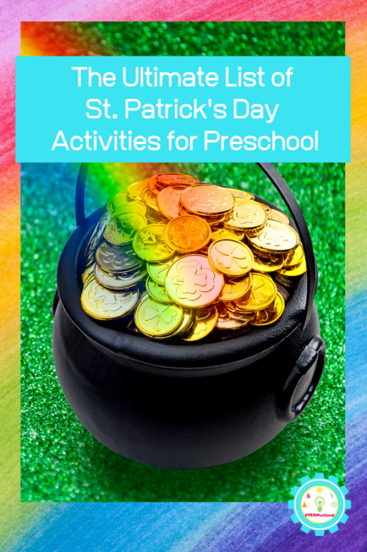 st patricks day activities for prek