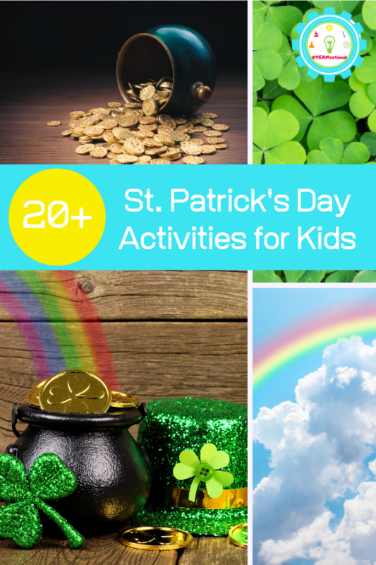 These St. Patrick's Day activities for kids are adorable, fun, and easy to make! Kids will love these activities!