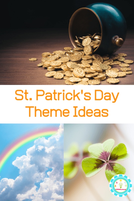 st patricks day theme