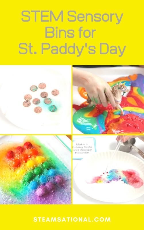 stem bin ideas for preschool