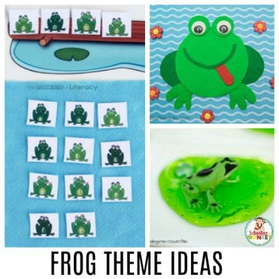 FROG THEME ACTIVITIES PERFECT FOR A FROG THEMATIC UNIT