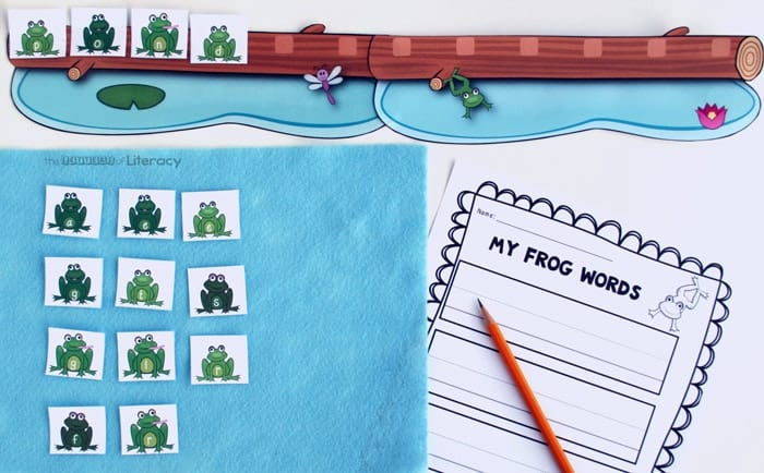 Planning a frog theme? These frog theme activities will give preschoolers and kindergarten kids everything they need to learn with a frog thematic unit! These frog activity ideas will make lesson planning a breeze. The perfect spring activities for the preschool classroom!