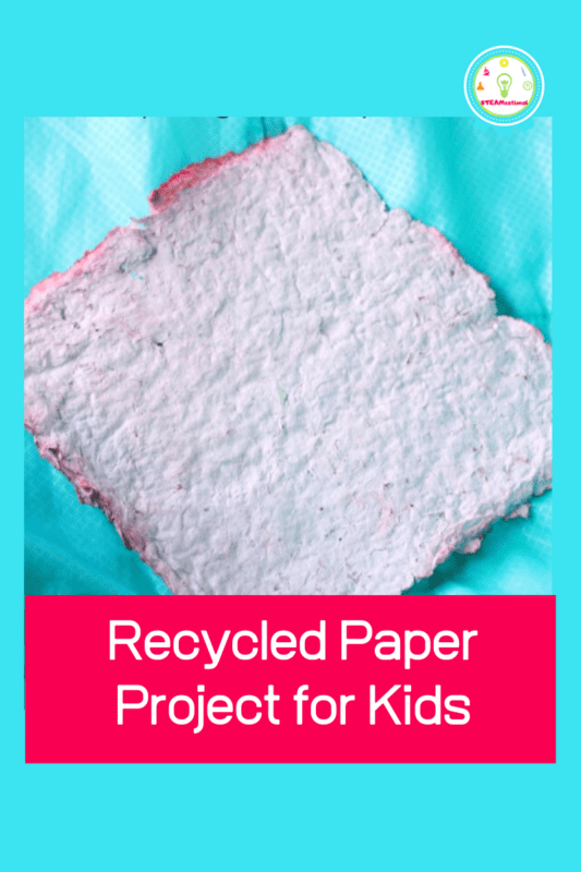 how to make paper without a screen