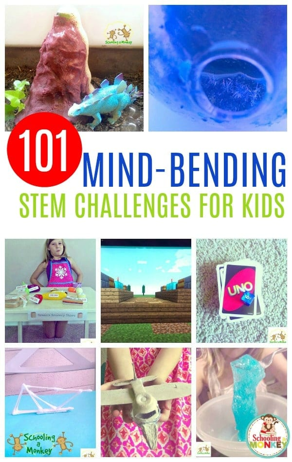 Need more science, technology, engineering, or math in your classroom? These STEM activities are the perfect STEM enrichment activities for kids and include hundreds of STEM ideas as a list of STEM activities. It's the ultimate STEM challenge list of STEM activities! #stem #stemed #stemactivities #science #scienceclass #scienceexperiments #handsonlearning #kidsactivitiers
