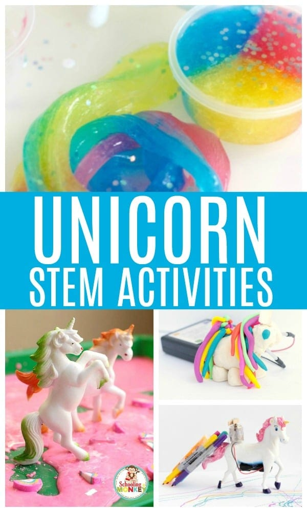 Nothing is more fun than unicorn science experiments! These unicorn science activities and unicorn STEM activities are the perfect way to learn with magical unicorns while learning all about real life science at the same time. You won't believe how much science you can teach using unicorns! Perfect for STEM centers! #scienceexperiments #science #stemed #unicorn