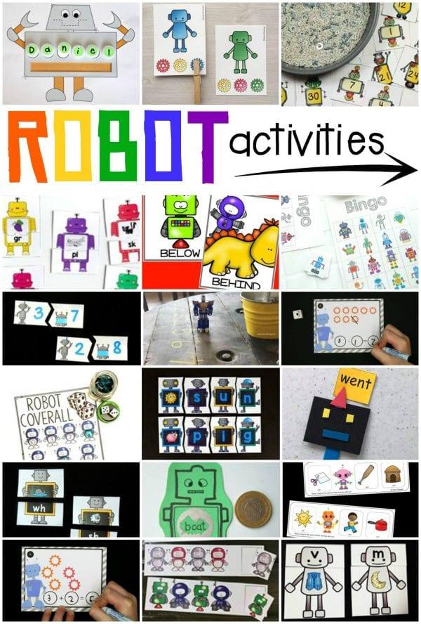robot activities