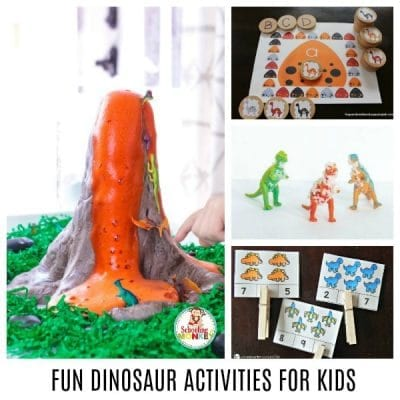 THE ULTIMATE LIST OF FUN DINOSAUR ACTIVITIES FOR KIDS