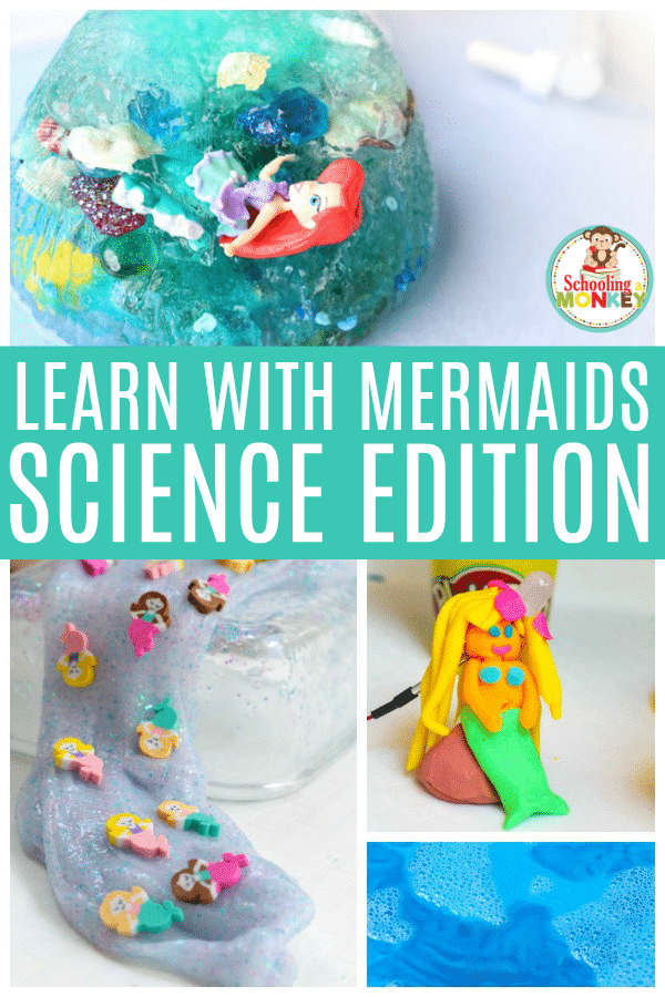 Want a fun new twist on summer science? Why not try these awesome science experiments featuring mermaids! Science is so much fun when you can use mermaids to learn. #scienceexperiments #scienceforkids #science #summeractivities #summerlearning
