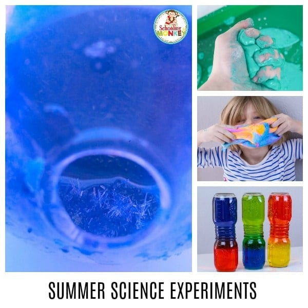 Summer science experiments are the perfect way to explore science during the hottest months of the year. Who says learning has to stop when it gets hot out? Make learning fun with these science experiments for summer learning and summer fun with kids. Summer activity ideas can be educational, too! #summerlearning #science #scienceexperiments #scienceclass #learnathome #summerfun #summer