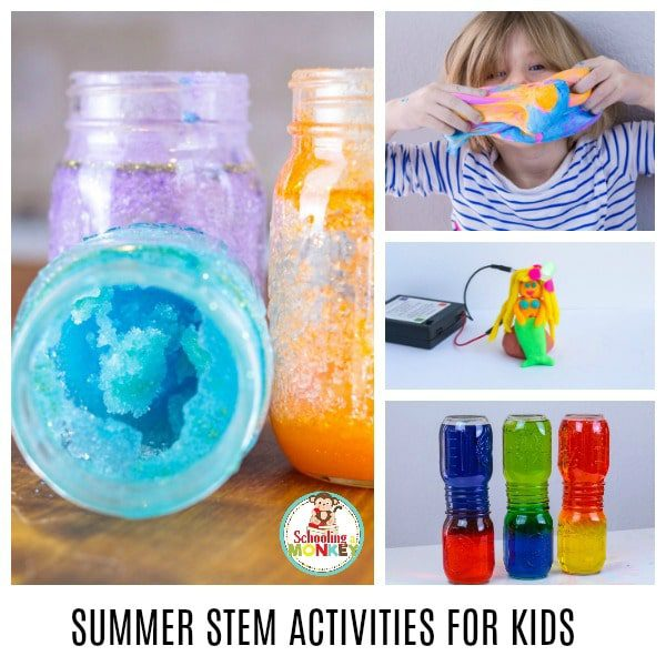 Fun Summer Stem Activities: THE ULTIMATE LIST OF SUMMER STEM ACTIVITIES