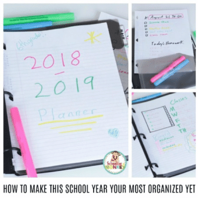 1 SIMPLE TIP FOR AN ORGANIZED SCHOOL YEAR