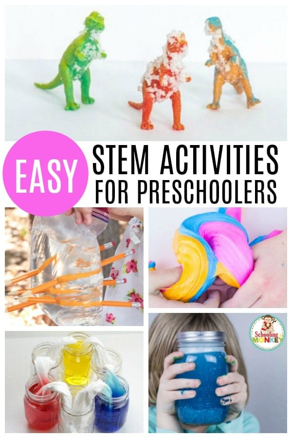 STEM activities aren't just for elementary! Preschoolers can learn with preschool STEM activities! STEM activities for preschoolers provide the ultimate STEM experience! #stemed #preschoolactivities #stemactivities #handsonlearning