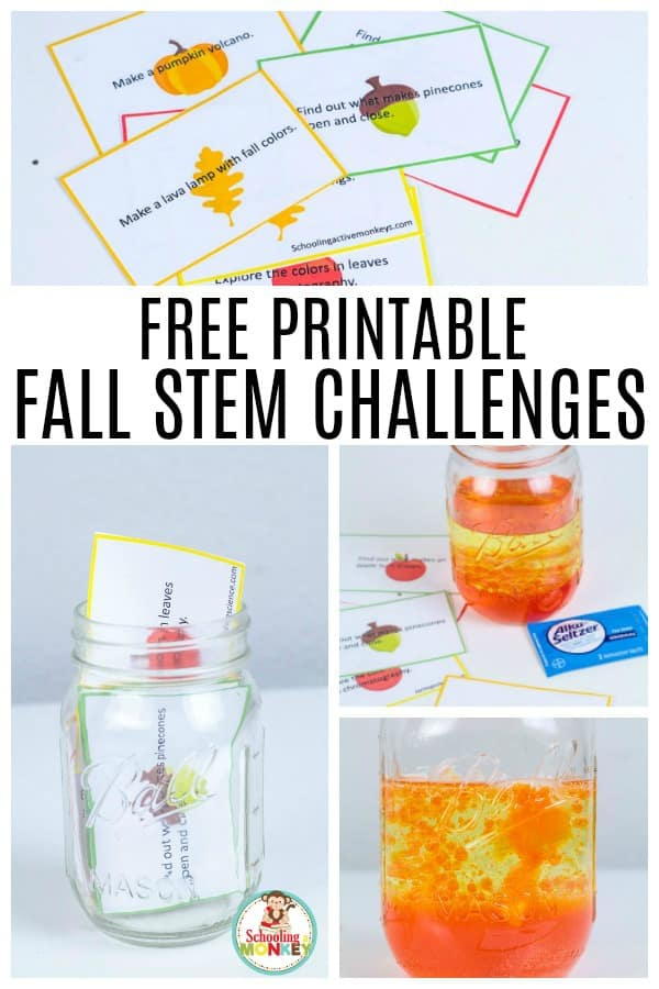 Take your STEM activities to the next level with fall STEM challenges! Combine fall and STEM topics with these fall STEM projects and easy STEM challenges for fall! #fallactivities #stemed #stemactivities #scienceprojects